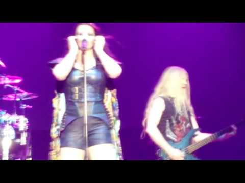 "nightwish Ever dream live at roma ""Poste Pay Rock""2016"