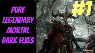 Pure Legendary Dark Elf Mortal Campaign #1 (Malekith) -- Total War: Warhammer 2