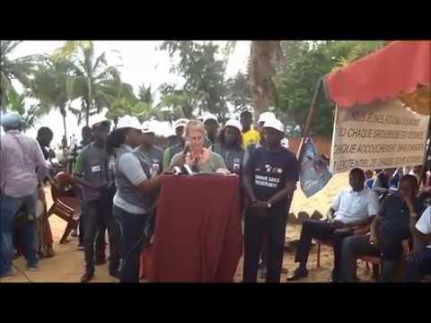 Lancement vacances citoyenne: allocution Andrea Diagne Représentant Résident de l' UNFPA Sénégal