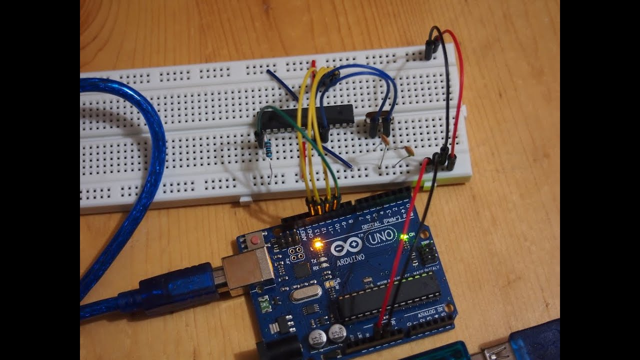 Use arduino uno as isp to burn bootloader on atmega