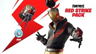 Fortnite Red Strike Pack! Thanks Desire Fury (GIVEAWAY LINK IN DESC)