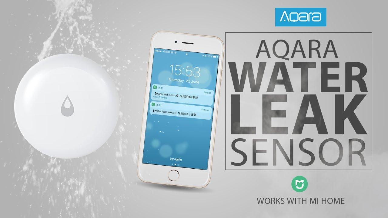 Aqara Water Leak Sensor Xiaomi Mi Home Walkthrough