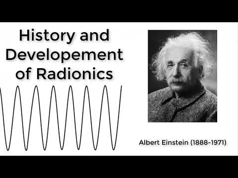 History of Radionics