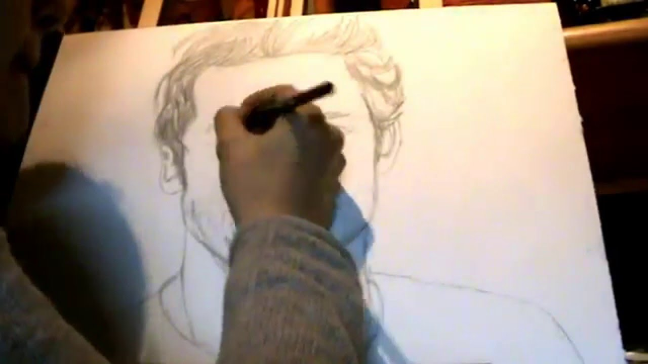 Patrick Dempsey Drawing