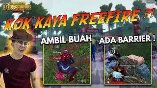 GOKILL !! UPDATE TERBARU SANHOK UDAH KAYA FREE FIRE ?! ADA BUAH + BARIER !!! - PUBG MOBILE INDONESIA