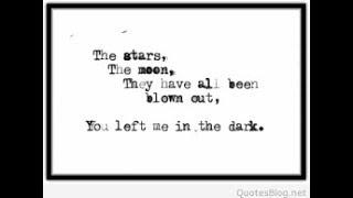 left in the dark rss