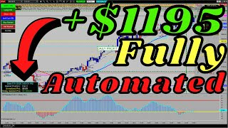 NASDAQ trading Fully Automated +$1200 daily target hit 100%