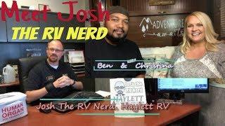 Josh the RV Nerd Interview   RV recommendation for FULL TIME RV LIVING