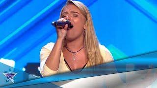LUCÍA vuelve para COBRARSE una DEUDA con PAZ con su VOZ | Audiciones 9 | Got Talent España 5 (2019)