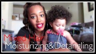 Mixed Babies Hair: Moisturizing & Detangling |Shea Moisture Line|