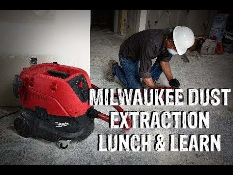 Milwaukee Silica Dust Extraction Lunch and Learn
