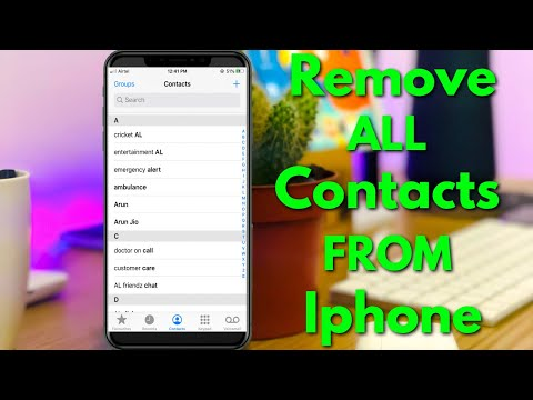 How to delete all contacts in iPhone in 3 steps!.