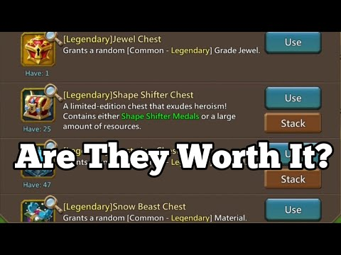 Lords Mobile - Opening Some Shape Shifter Chests: Are They Worth It?