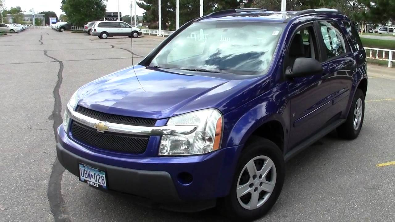 Good 2006 Chevrolet Equinox LS FWD   YouTube