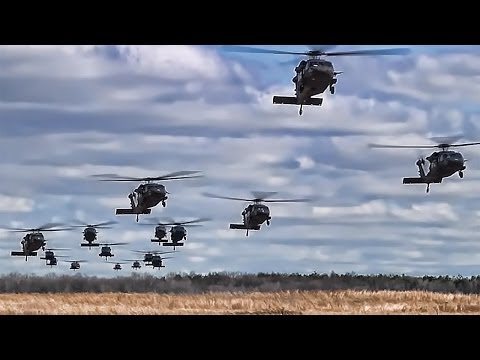 Black Hawk Helicopters • 101st Airborne Air Assault