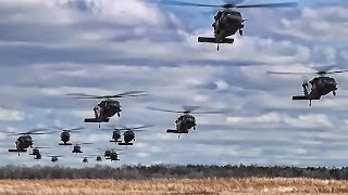 Video Black Hawk Helicopters • 101st Airborne Air Assault download MP3, 3GP, MP4, WEBM, AVI, FLV November 2018