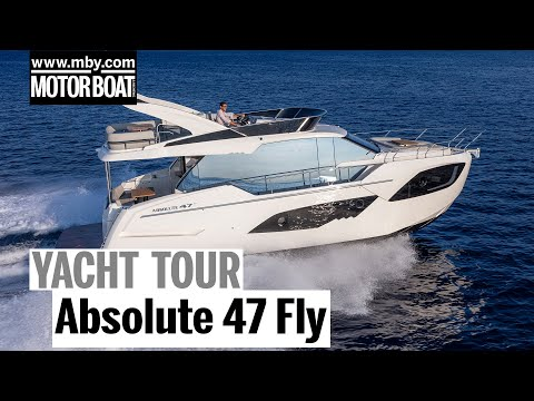 Absolute 47 Fly | Yacht Tour | Motor Boat & Yachting