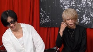LUNATIC FEST 2018 DIR EN GREY Interview: 2018.06.23 Toshiya x Shiny...