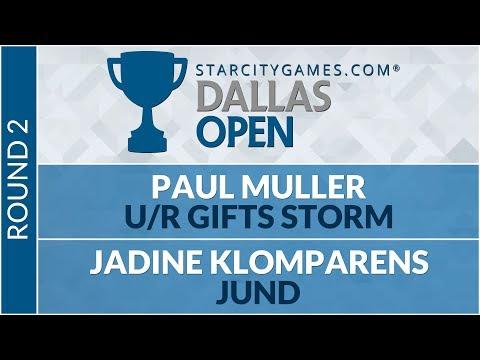 SCGDFW - Round 2 - Paul Muller vs Jadine Klomparens [Modern]