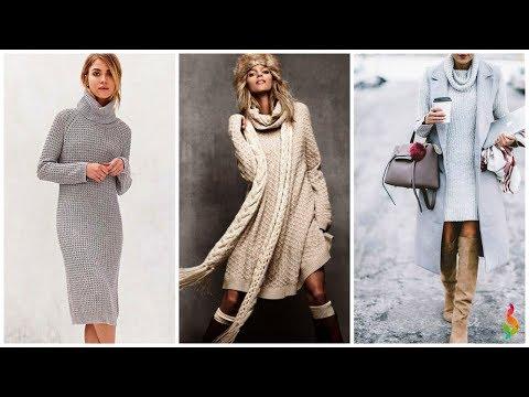 Зима платье крючком