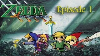 The Legend of Zelda : Four Sword Adventure | episode 1 [GC]