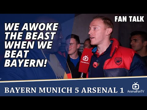 We Awoke The Beast When We Beat Bayern!!! | Bayern Munich 5 Arsenal 1