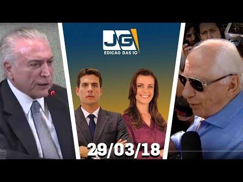 Jornal da Gazeta - Edição das 10 - 29/03/2018