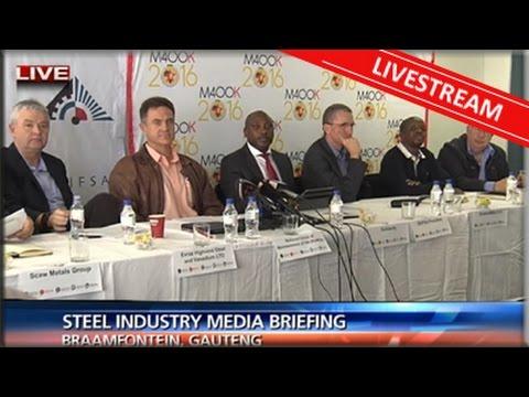 Steel industry media briefing