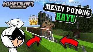 Download Video Cara Bikin Mesin Pemotong Kayu Yang Di Rahasiakan di MCPE - Minecraft Indonesia MP3 3GP MP4