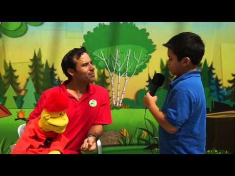 La JaJa Kids Junior Journalists Interview SteveSongs