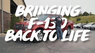 4-Day DETAIL on an F-150 FX2 | Dirty Truck Detail