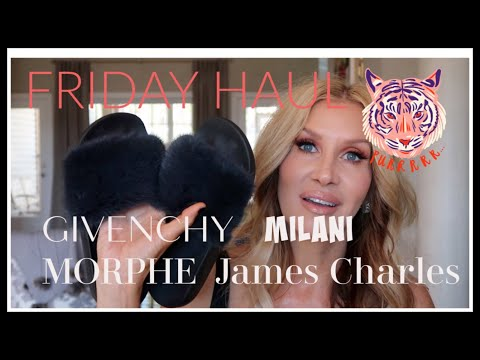 Friday Haul~ GIVENCHY Milani Colourpop & MORPHE James Charles Palette