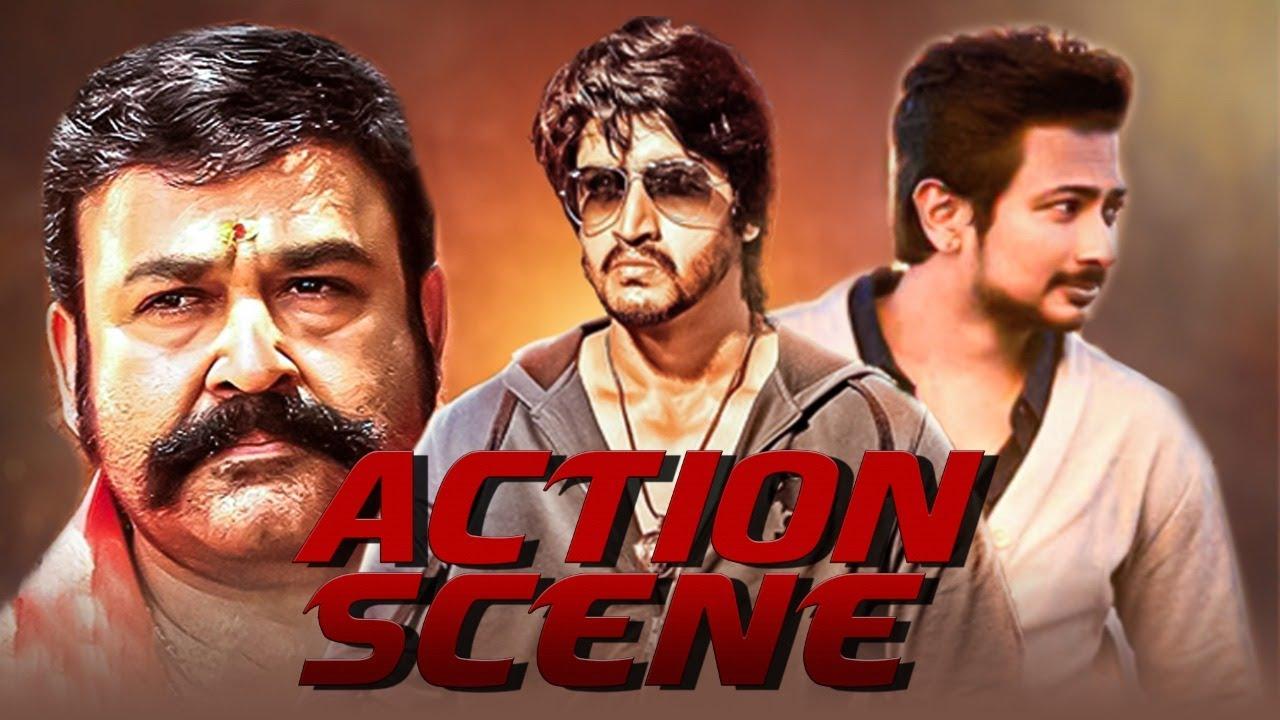 Best Blockbuster Action Scene | Hindi Dubbed Movie Scene | Mohanlal, Pavan Teja, Udhayanidhi Stalin