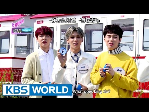 SF9 guides you to Korea! [KBS World Idol Show K-RUSH / 2017.04.28]