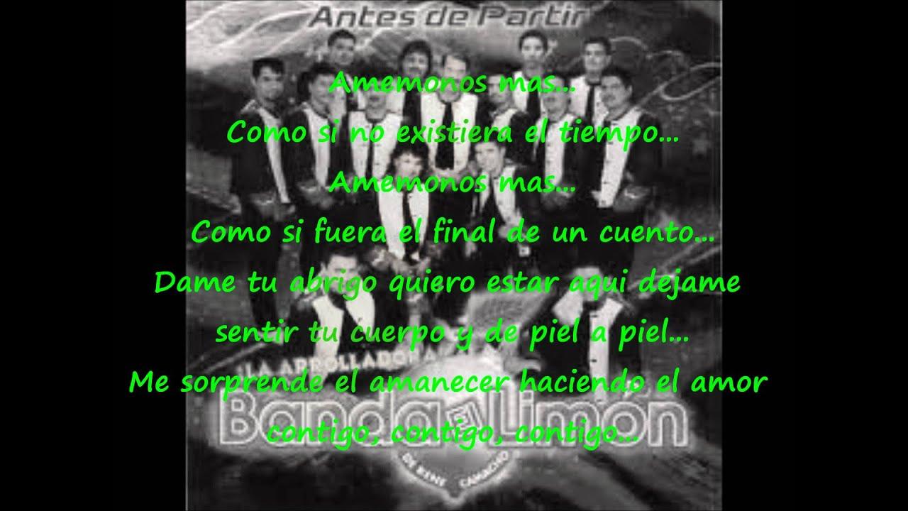 Amemonos Mas - La Arrolladora Banda El Limón De René ...