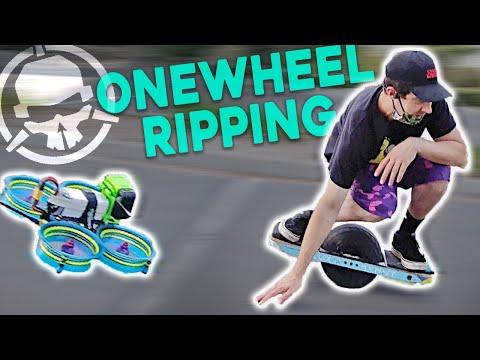 Фото FPV vs. Onewheel STUNT Riders!