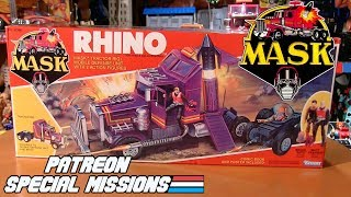 Patreon Special Missions: M.A.S.K. Rhino by Kenner (1985)