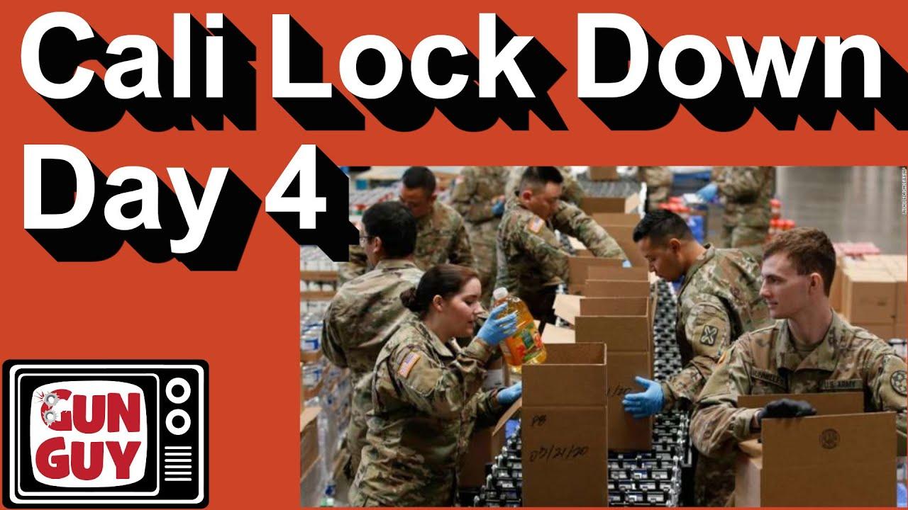 California COVID-19 Lock Down (Day Four) - Getting back to gun stuff