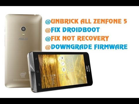 Giải Pháp Cứu Treo Logo Unbrick Fix Recovery Asus Zenfone 5(T00J) | MobileSolutionsVN