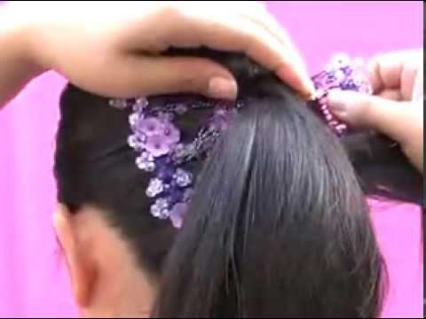 Как сделать высокую свадебную прическу?
