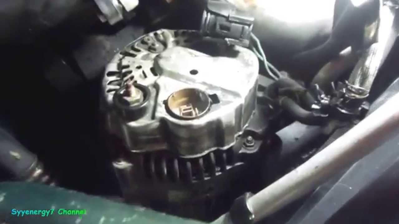 Chrysler Sebring Alternator Removal