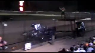 Tony Stewart KILLS Kevin Ward at Sprint Dirt Race - (Tony Stewart Crash) RIP Kevin Ward Jr