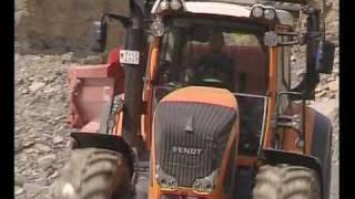 Ciągniki rolnicze FENDT - budowa dróg autostrad, stabilizatory, frezy, zagęszczarki KORBANEK