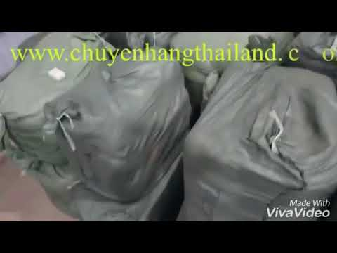 Quá trình vận chuyển hàng hóa từ Thái Lan về Việt Nam