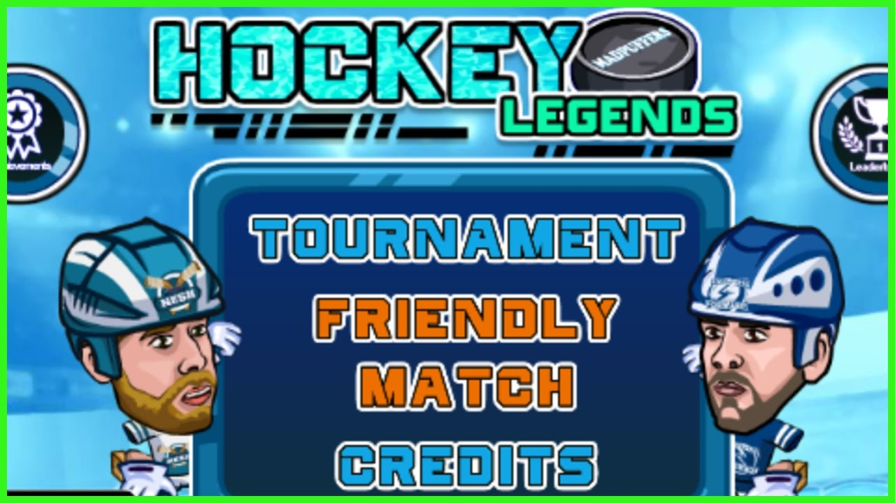 "Hockey Video Game Online | ""Hockey Legends"" (Free Game ..."