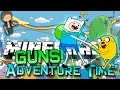Minecraft: Adventure Time VS GUNS MOD! Modded Mini-Game w/Mitch & Friends!