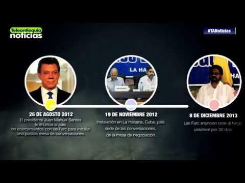 Momentos que marcaron el proceso de paz entre Gobierno y Farc