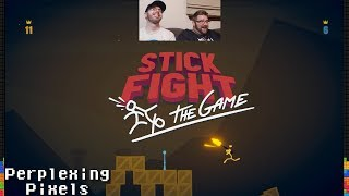 Perplexing Pixels: Stick Fight: The Game (PC) (review/commentary) Ep288