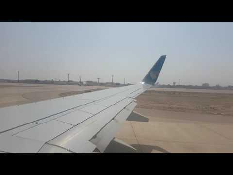 Takeoff Karachi Airport - Omanair