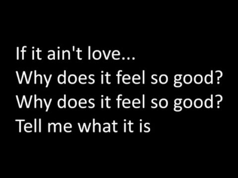 Jason Derulo - If it ain't love Lyrics